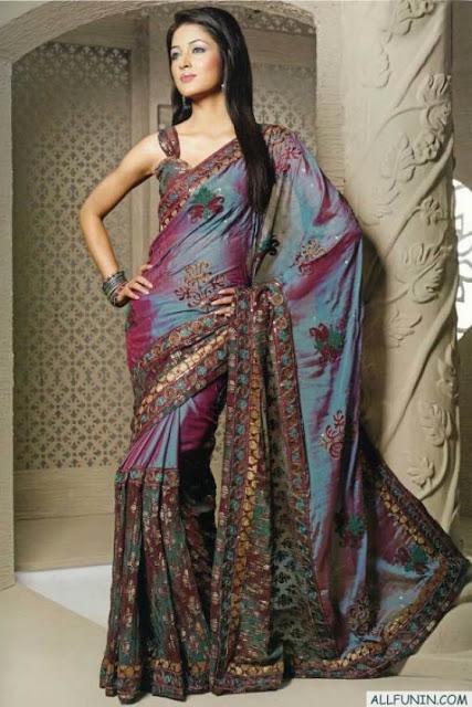 Dulhan+Sarees Dulha & Dulhan: Stunning Designer Sarees Design