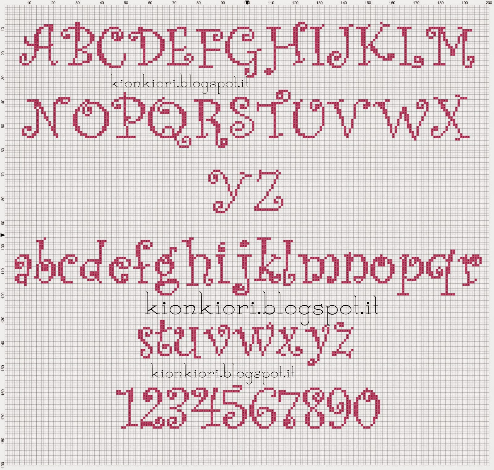 1000 images about cs alphabet 3 on pinterest for Lettere a punto croce schemi