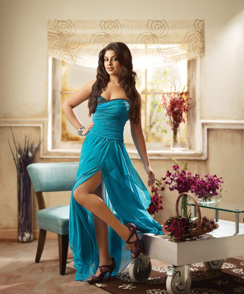 ... T20 Updates: Richa Gangopadhyay Photoshoot for CCL Calendar 2012