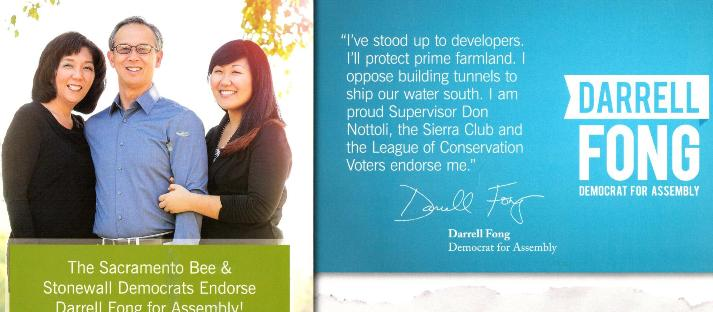 Fong Receives Endorsement From Matsui in Assembly Race
