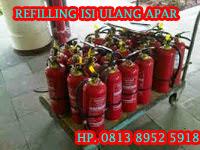 REFILLING TABUNG APAR POWDER