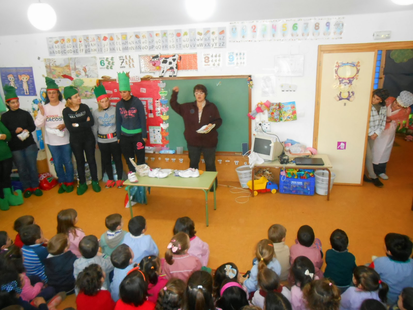Educaci n infantil ceip padre manjon teatrillo el - Zapatero para ninos ...
