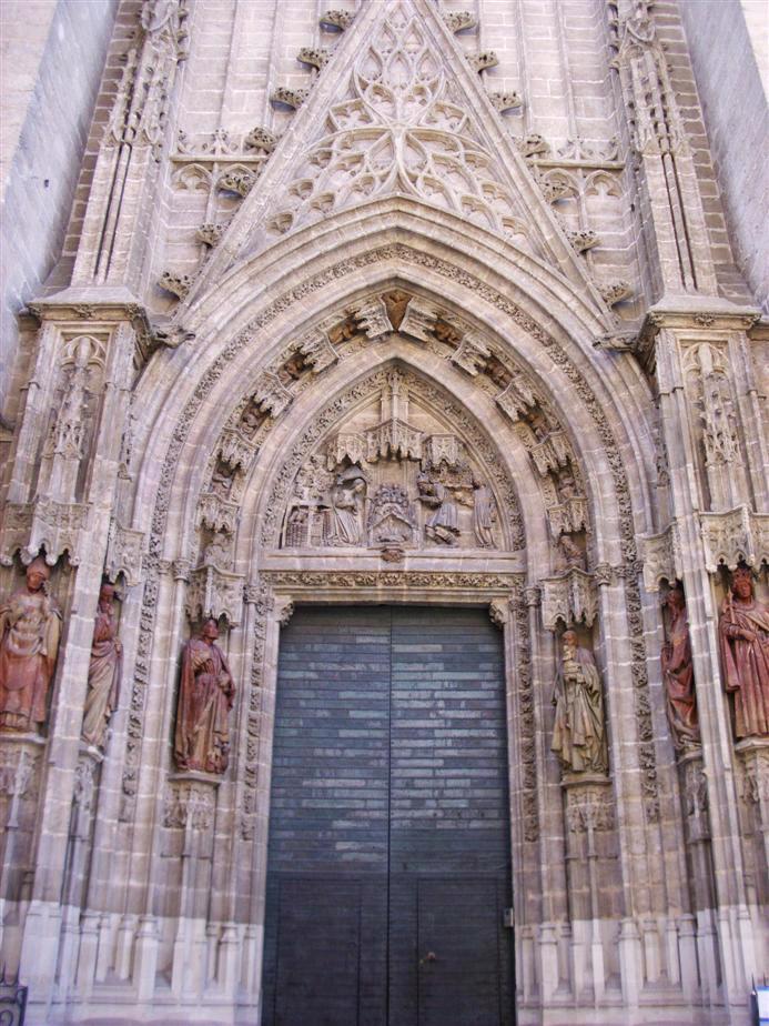 Historiarte sevilla puertas de la catedral 2 3 - Puertas uniarte sevilla ...