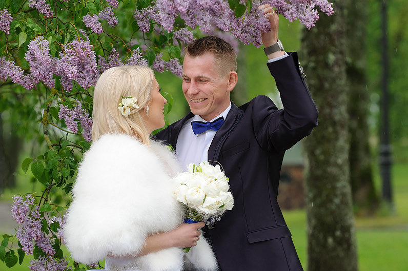 spring wedding in lithuania