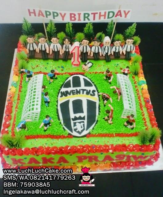 Kue Tart Ulang Tahun Tema Juventus Daerah Surabaya - Sidoarjo