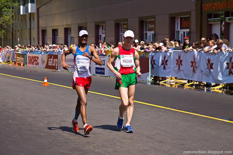 Мужчины 50 км Кубок Мира по Спортивной ходьбе Саранск | Men's 50 km IIAF World Race Walking Cup Saransk 2012