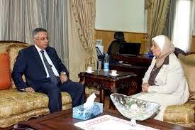 وزير التعليم يلتقى الدكتورة يوهانسن عيد رئيس الهيئة القومية لضمان جودة التعليم والاعتماد