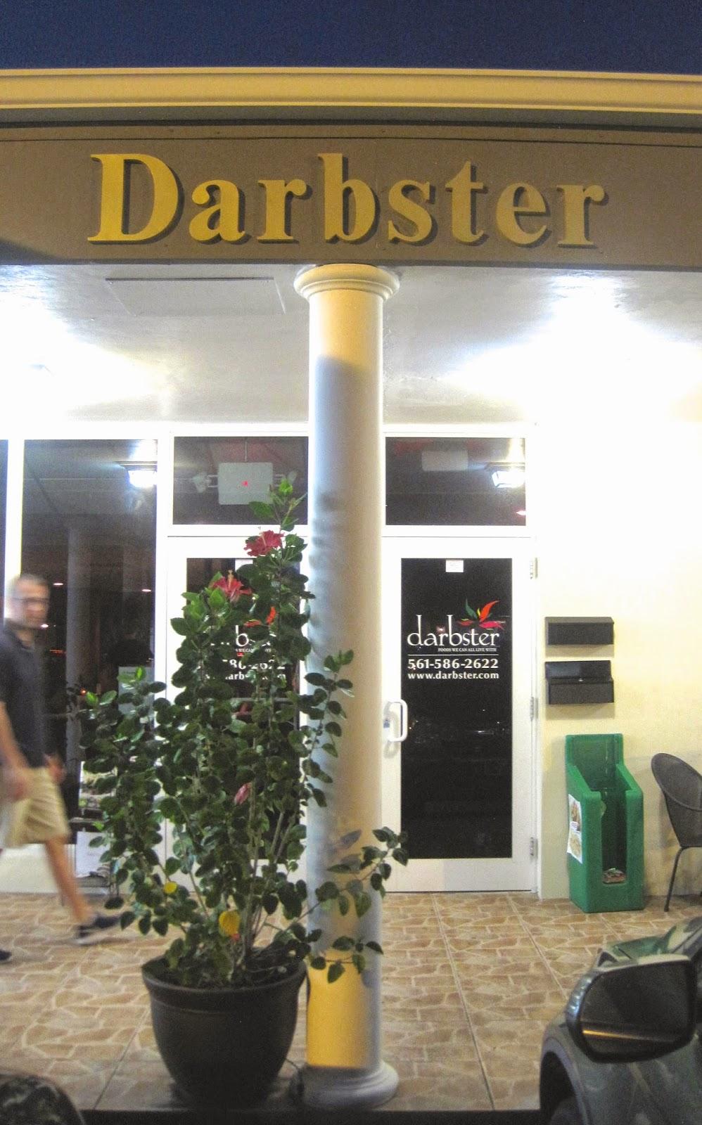 Darbster in Boca Raton Florida - Veega - Vegan Restaurant