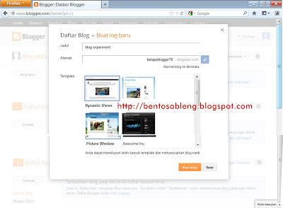cara daftar blogger