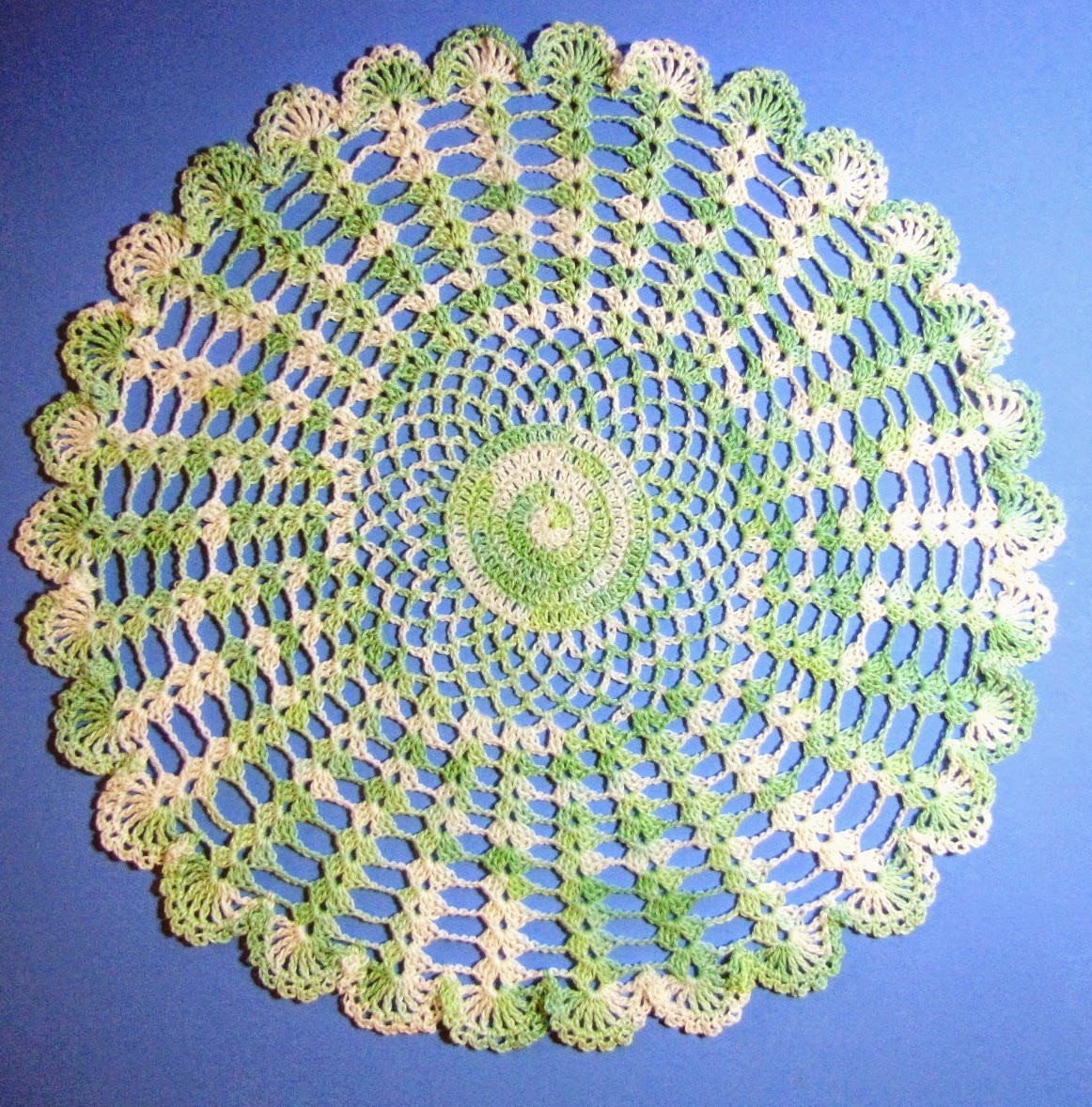 Bellacrochet Easter Garden Doily A Free Crochet Pattern For You With Butterflies Circular