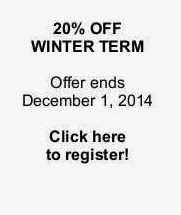 20% OFF WINTER REGISTRATION