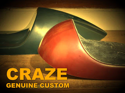 CRAZE development status Cafe Racer Semi-Double and Vintage Racer Seat