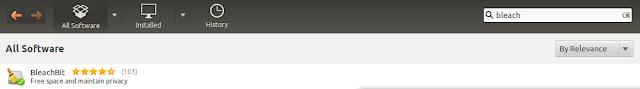 install Bleachbit in Ubuntu