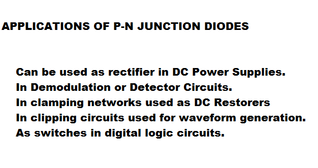 comprhensive study of p n junction