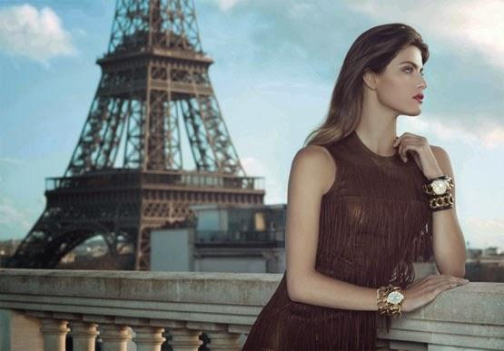 Isabeli Fontana para Euro relógios coleção 2014