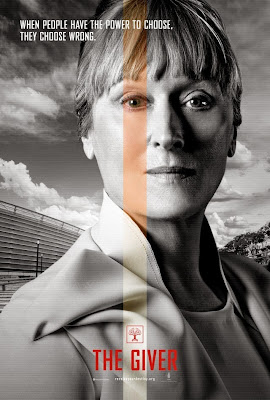 the giver meryl streep poster