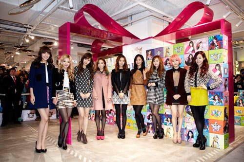 Foto Terbaru SNSD di Lotte Pop Up Store 02