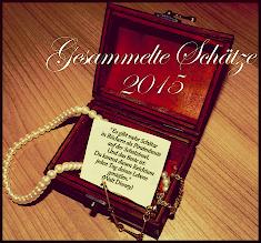 Die Challenge gesammelte Schätze & Zitate in 2015
