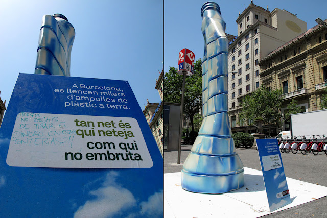 """""""Tan net és qui neteja com qui no embruta"""" Ayuntamiento de Barcelona"""