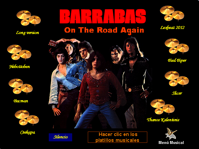 ON THE ROAD AGAIN (versiones)
