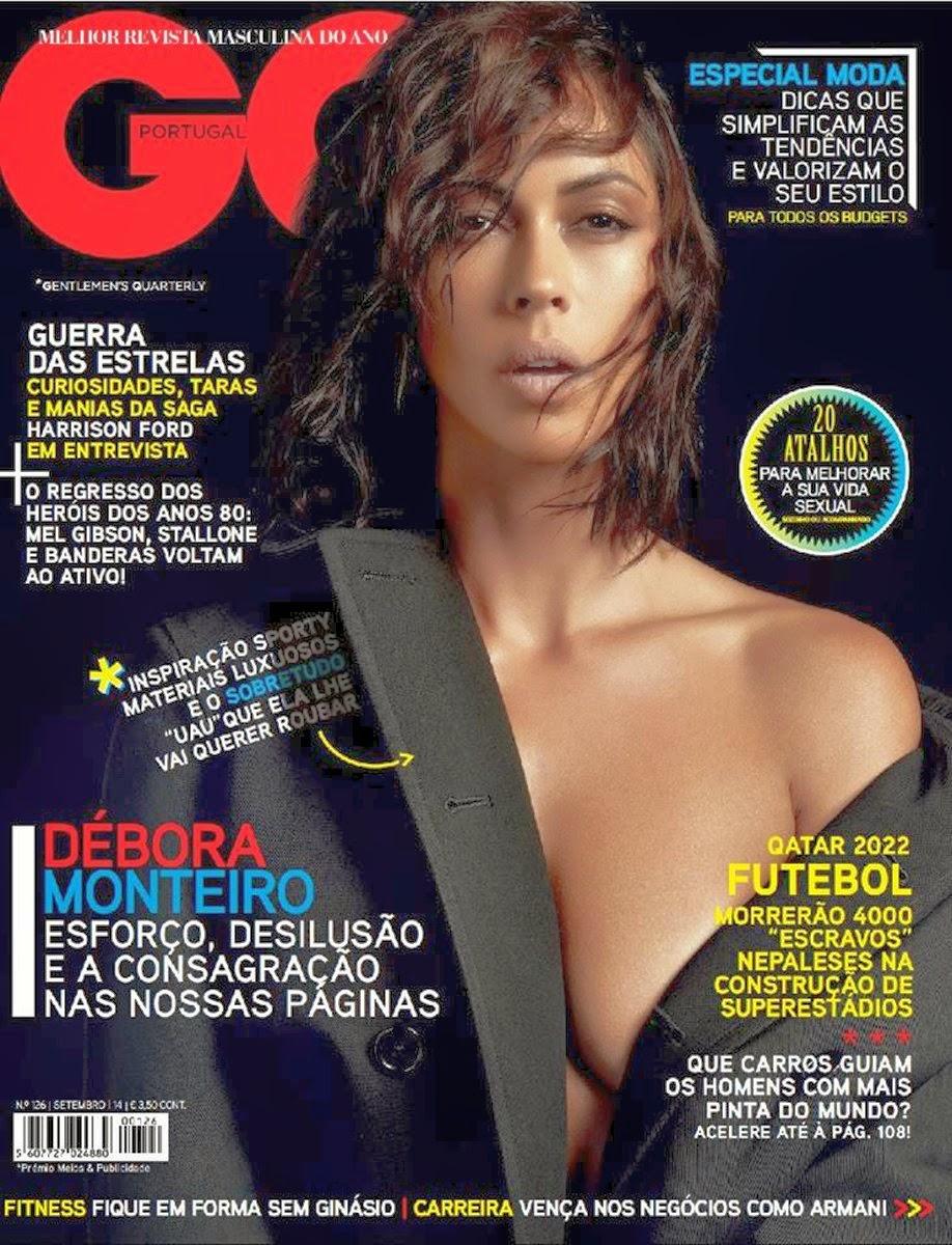 Fotos Débora Monteiro na GQ Portugal Setembro 2014