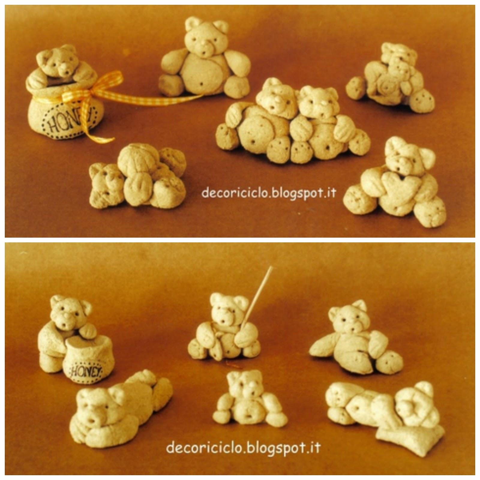 spesso decoriciclo: Paste modellabili fai-da-te: raccolta di 4 ricette XB63