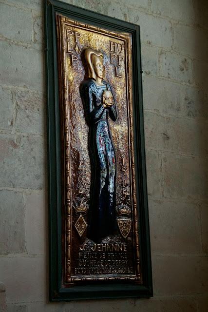 Saint Jehanne Plaque
