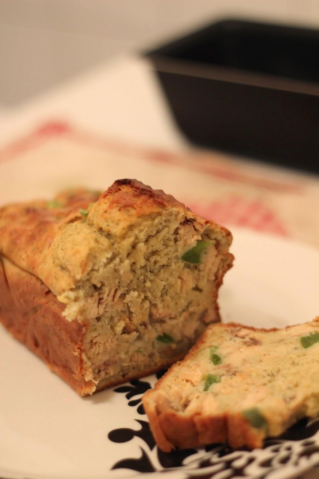 Craquez sans conséquence: Cake salé minceur aux morceaux