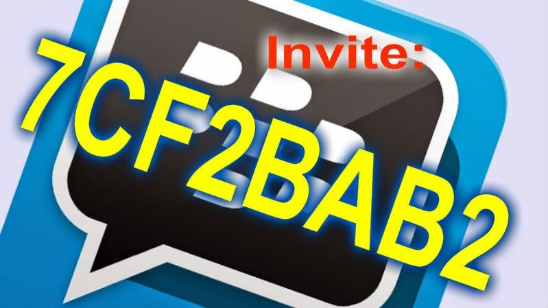 Invite Pin BB: