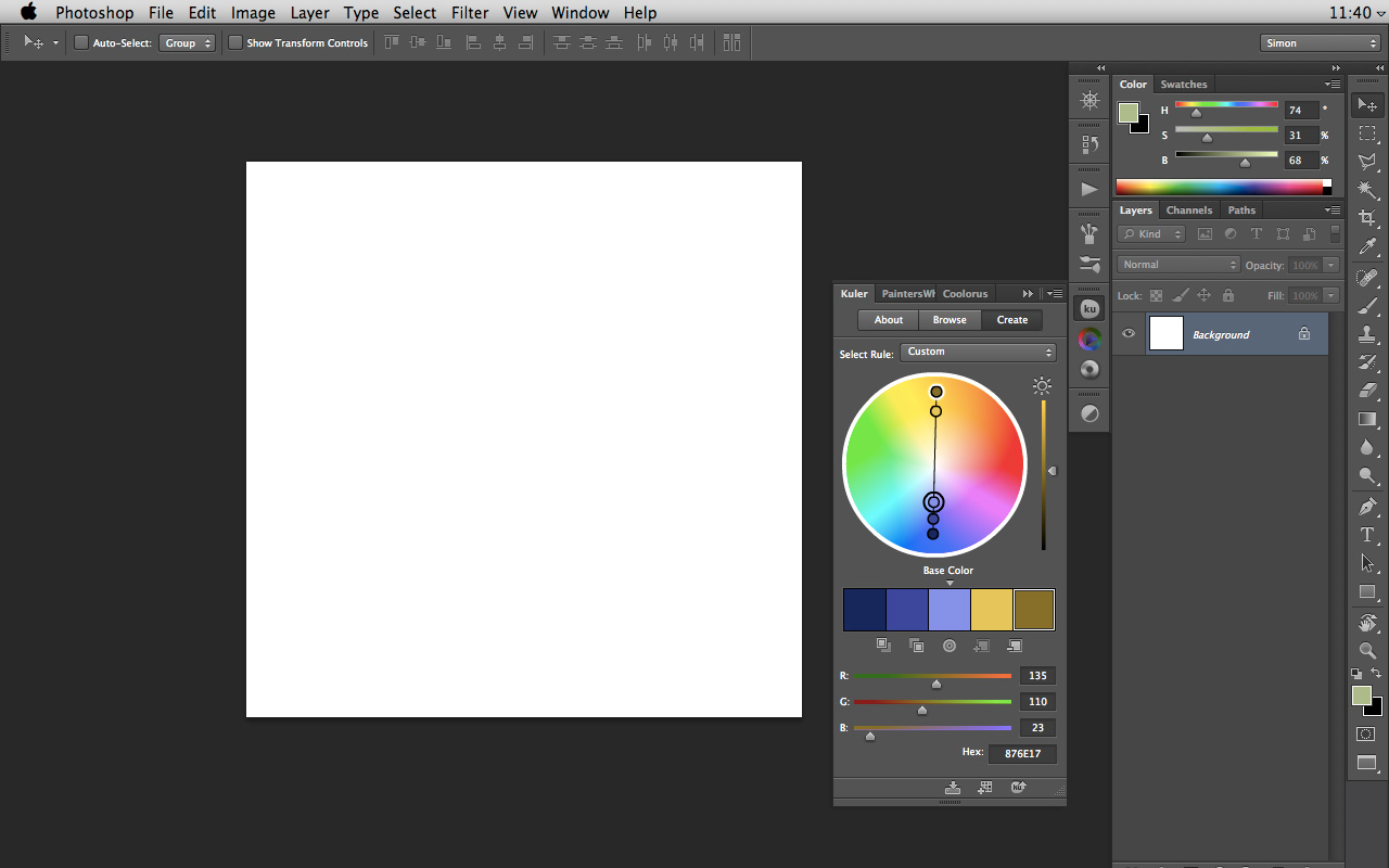 Simon Loche About Color Picking In Photoshop