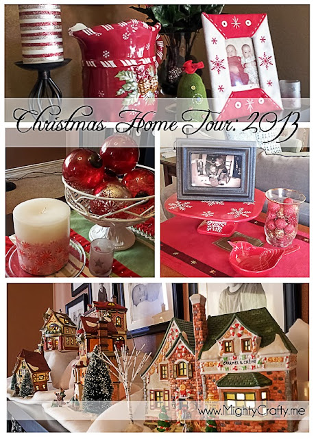 Christmas Home Tour 2013 -- www.MightyCrafty.me