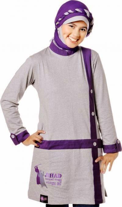 20 Trend Fashion Baju Muslim Senam Terbaru 2015