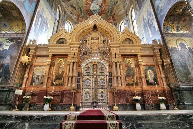 El iconoclasto de la Iglesia del Salvador sobre la Sangre Derramada