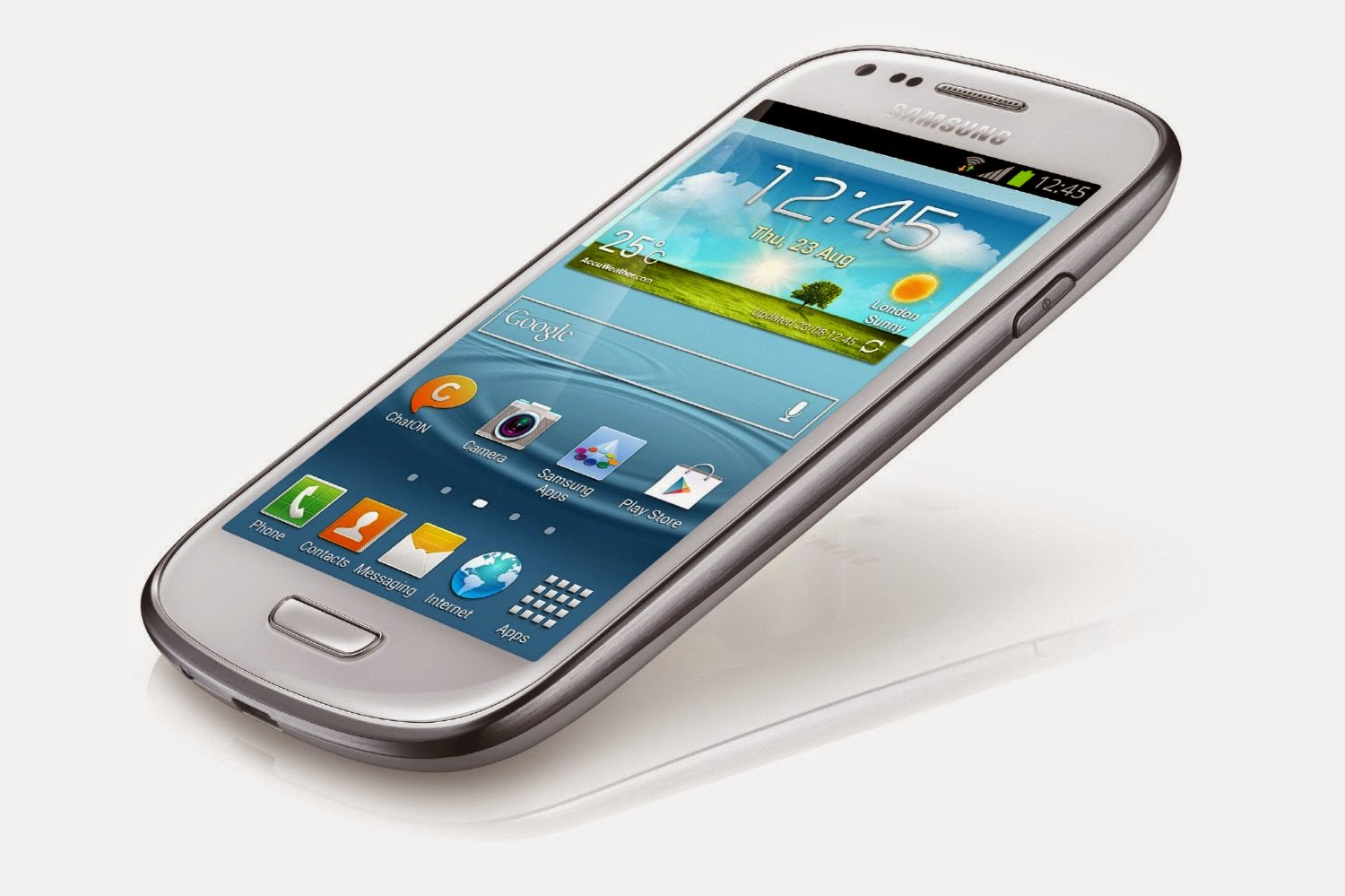 Samsung Galaxy SIII Mini UK SIM-Free Smartphone - White
