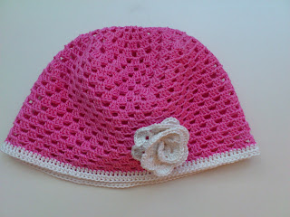 шапочка для девочки крючком схема