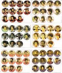Cartelas históricas da Gulliver 1977