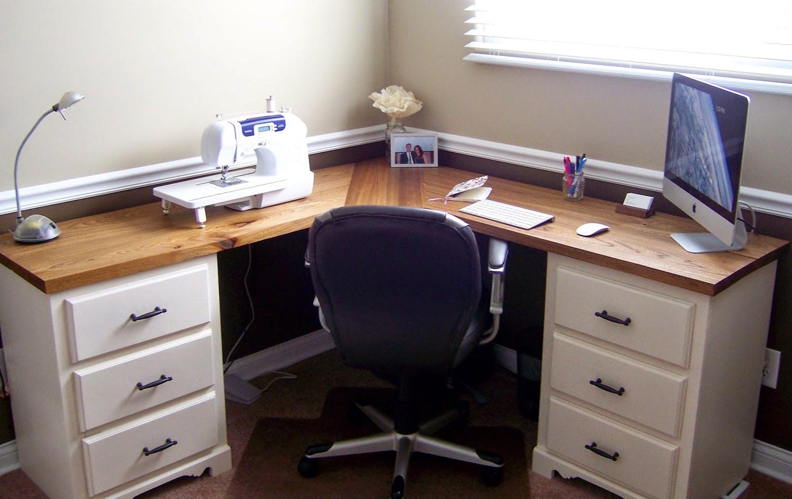 Corner Sewing Desk Linaandvi Blogpspot Com