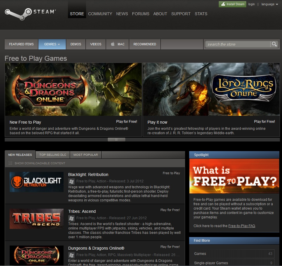 Sign in to your Steam account to review purchases, account status, and get personalized help.