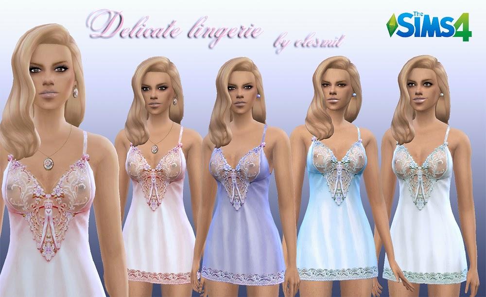 Женская повседневная одежда - Страница 3 Delicate%2Blingerie