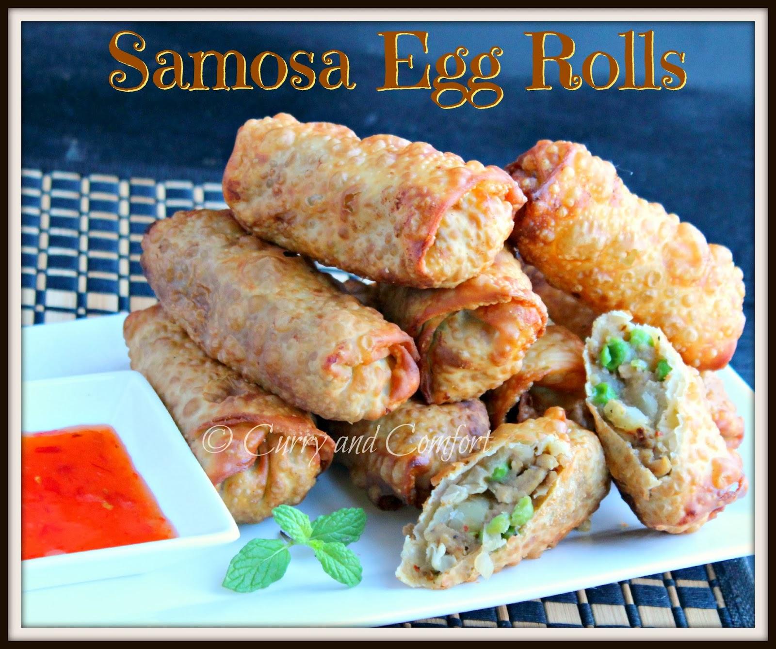 Kitchen Simmer Chicken Samosa Egg Rolls