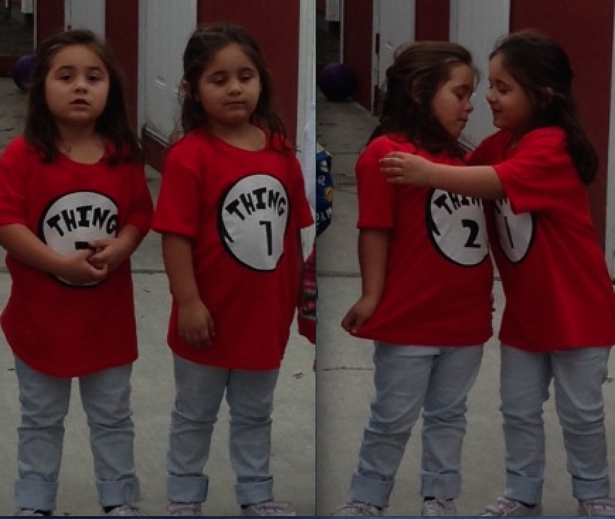 Thing 1 and Thing 2 Are Now 5!!!