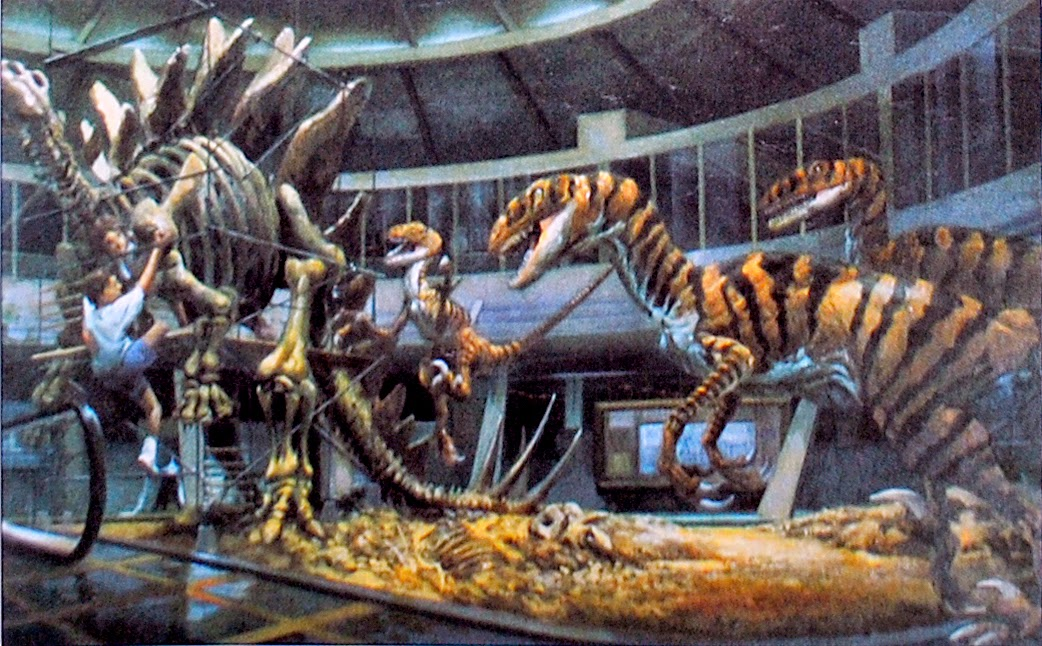 Spectacularly Colorful JURASSIC PARK Concept Art By Craig