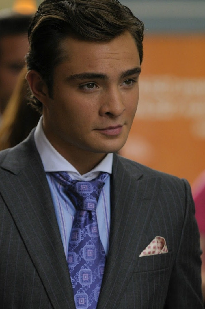 chuck bass smiling - photo #17