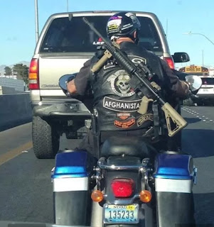 coolest biker ever
