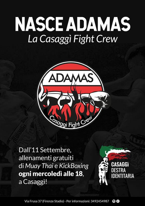 ADAMAS - CASAGGì FIGHT CREW