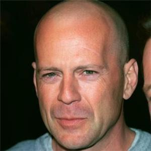 Bruce-Willis - The Bald Look