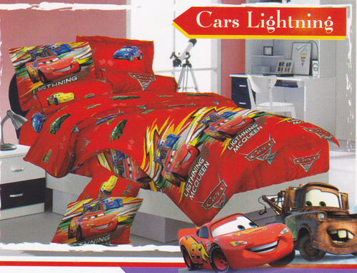 Sprei Love Story Cars Lightning