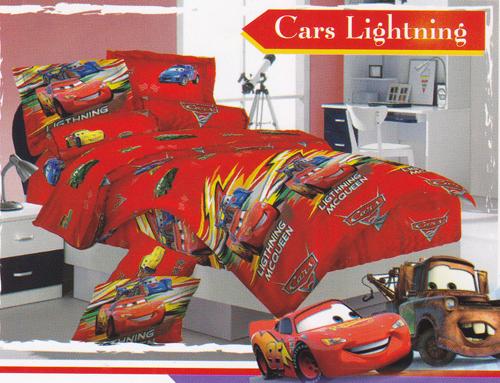 Sprei Love Story Cars Lightning