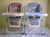 High Chair BabyDoes CH10 dengan Multi-position Recliner