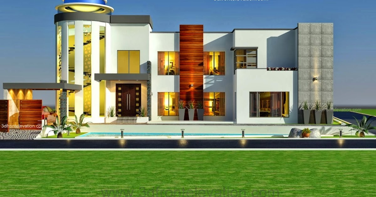 3d front 3 kanal modern contemporary house design 2014 coming soon now in process At home architecture gordes 84